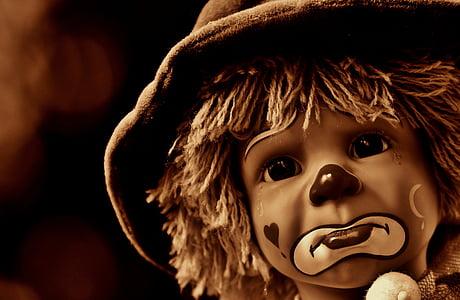 clown child photograph