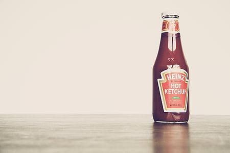 Heinz hot ketchup bottle