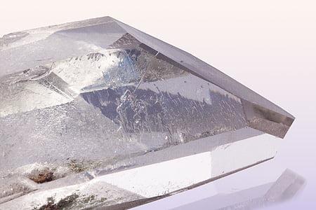 clear gemstone
