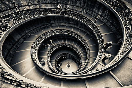 spiral stair building