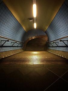 subway stair