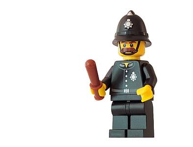Police Man mini figure