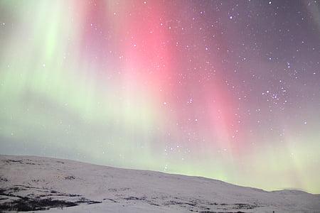 Aurora light photo