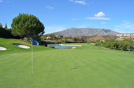 golf ball field