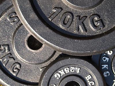 10 KG gym plates