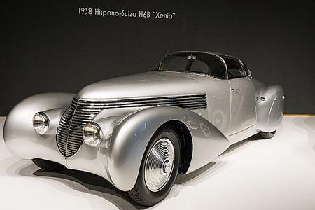 gray die-cast toy car