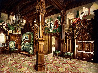 brown wooden house interior