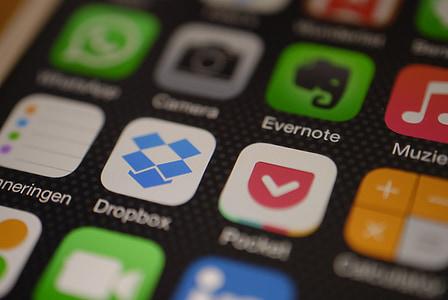 Dropbox application screengrab