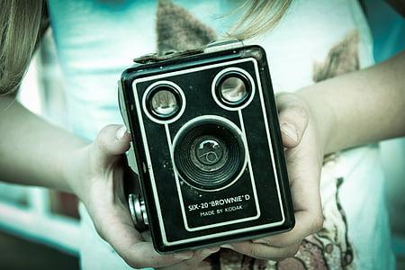 black trail camera