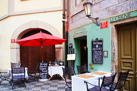 restaurant facades