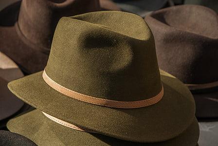 brown fedora hats