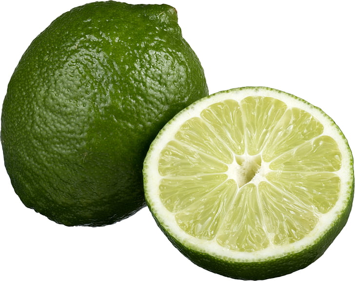 two green lemons