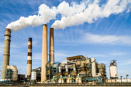 stock photo of factory plant