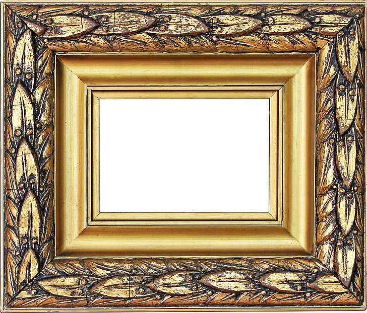 Royalty-Free photo: Photo of brown photo frame   PickPik