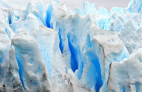 closeup photo of blue and white stone