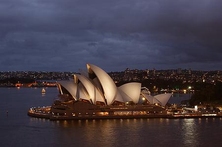 Sidney Opera House during night