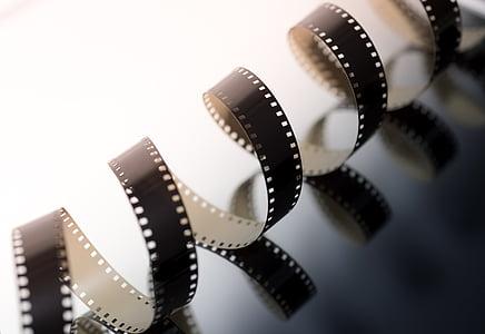 black film strip