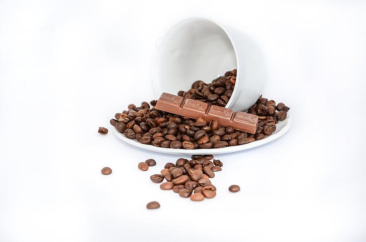 royaltyfree photo chocolate bar and coffee beans  pickpik
