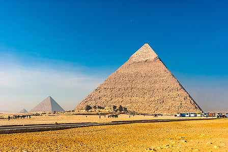 great pyramid on field