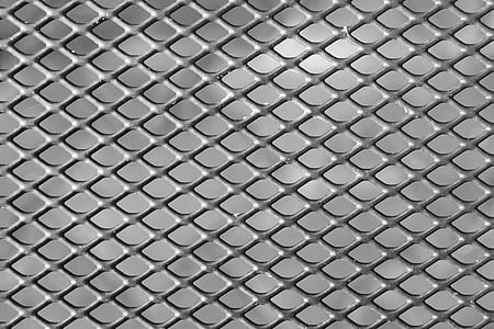 gray metal photo