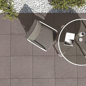 photo of gray patio bistro set