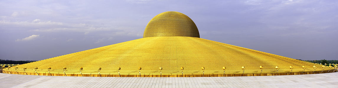 photography of gold dome