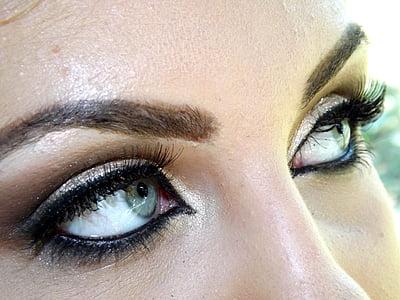 women's black eyebrow