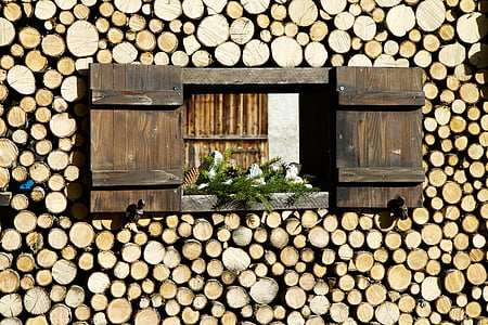close up photo of wooden window