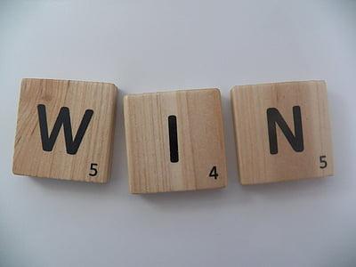 brown scrabble wooden blocks