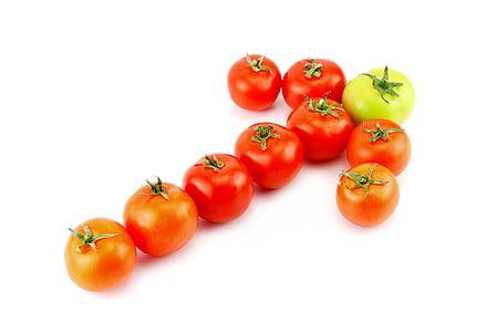 red tomato arrow form