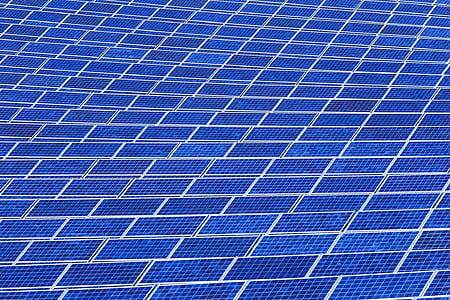 solar panel array, power, sun, electricity, energy, environment