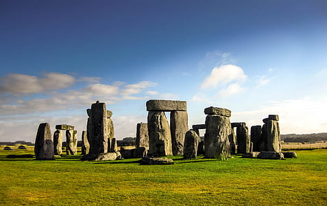 Stonehenge in England at daytime