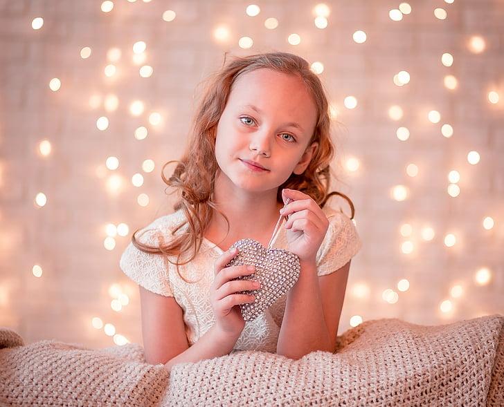 girl, little, child, cute, happy, smile