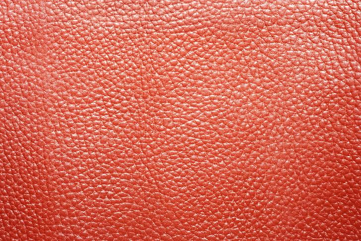 leather, red, orange, worn, texture, antique