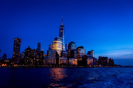 photo of World Trade Center nearby sea