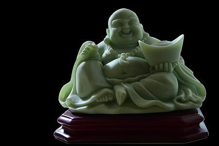Budai jade figurine