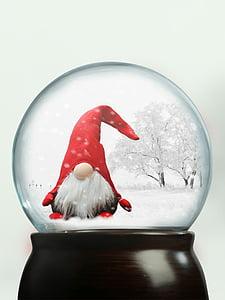 dwarf snowglobe