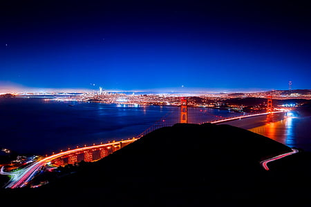 time lapse photography of Golden Gate Bridge