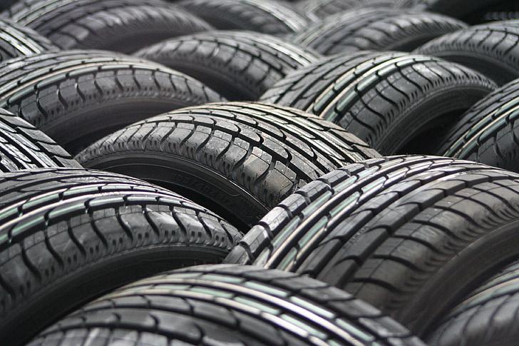 vehicle tire lot