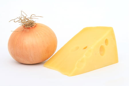 onion and cheese