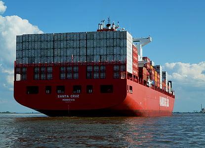 Santa Cruz container ship