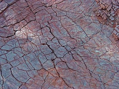 closeup photo of brown soil