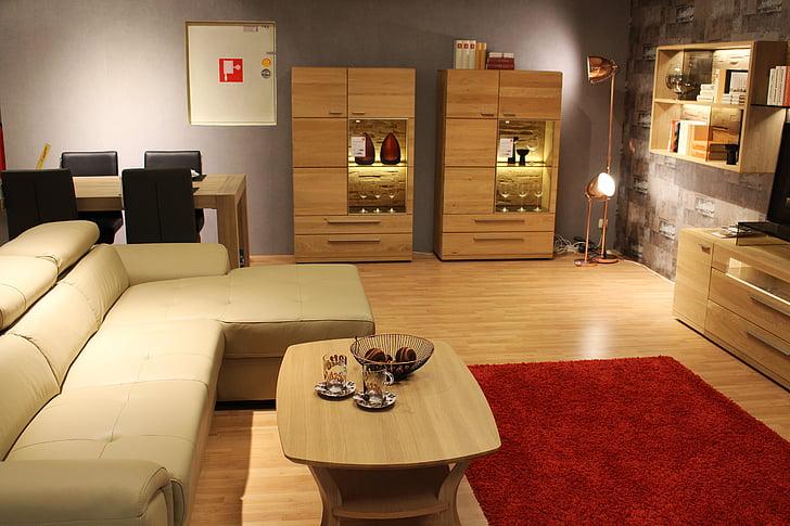 photo of arranged living room set