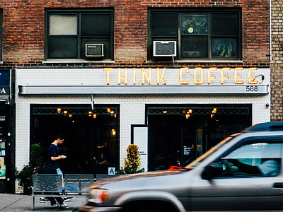 Think Coffee storefront
