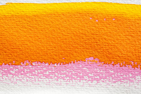 orange and pink abstract painting