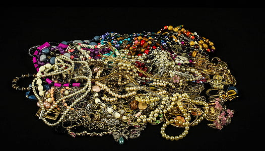 pile of assorted jewelry