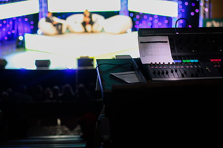 stage audio control system