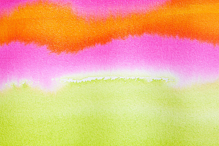 yellow and pink abstract painting
