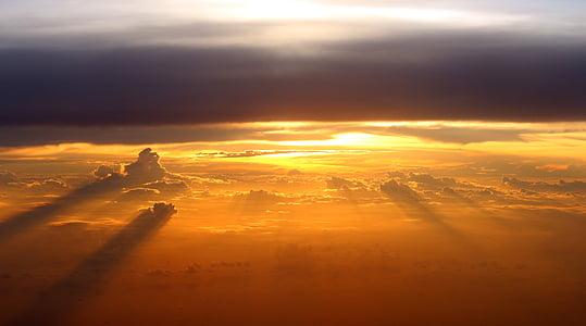 photo of sunset