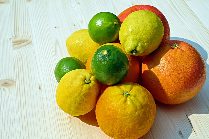 assorted citrus fruits